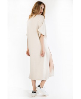 The ecru kimono dress