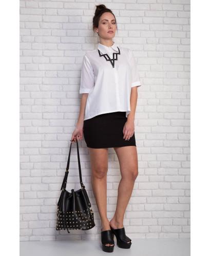 White A line shirt