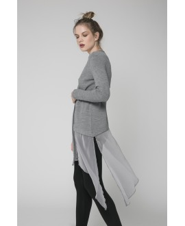 The Grey Free Spirit Cardigan