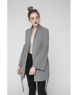 The Grey Romantic Soul Cardigan