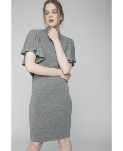 The Grey Dragonfly Dress