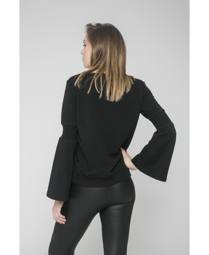 The Black Mastermind Blouse