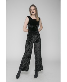 The Black Kiss Me Jumpsuit