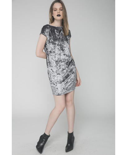 The Grey Hold Me Dress