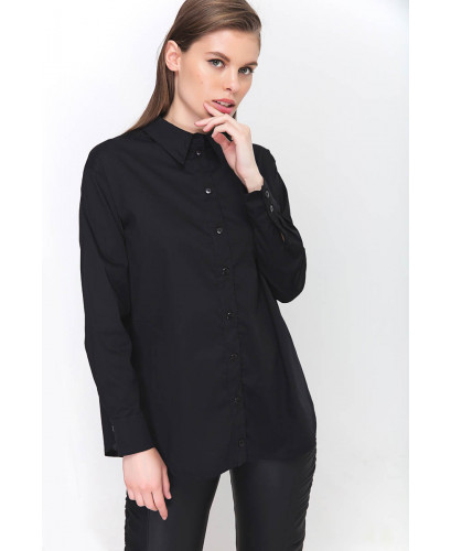 The Black Preppy Shirt