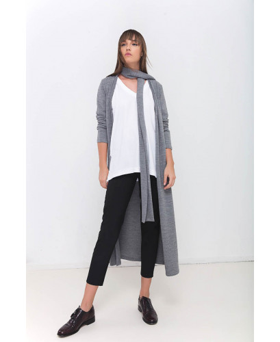 The Urban Grey Ninja  Cardigan