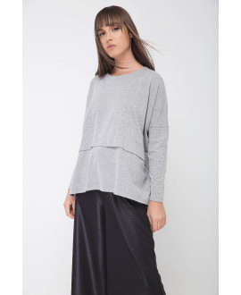 The Grey Line Top