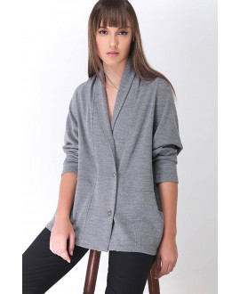 The Grey  Envelope Cardigan