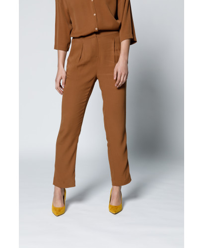 The Hester Pants-Brown