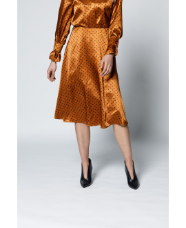 The Oracle Skirt-Brown