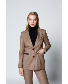 The Illusions Jacket-Brown