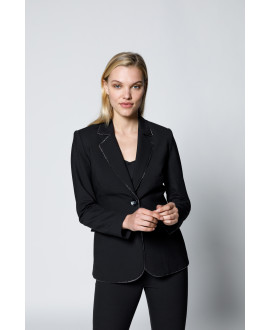 The Mrs Dalloway Blazer-Black