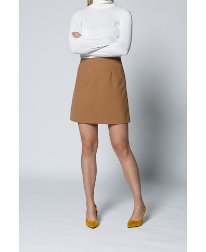 The Powerful Skirt -Brown