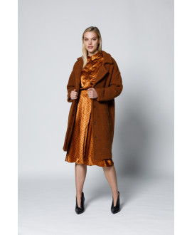 The Arya Overcoat-Copper