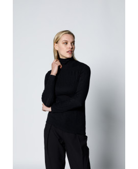 The Willow Blouse-Black