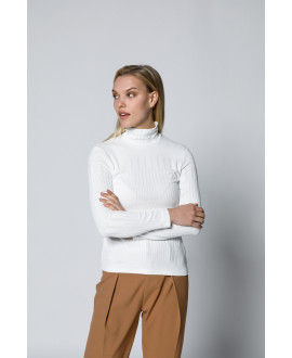 The Willow Blouse-White