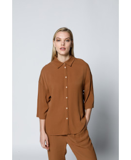 The Wings Shirt-Brown