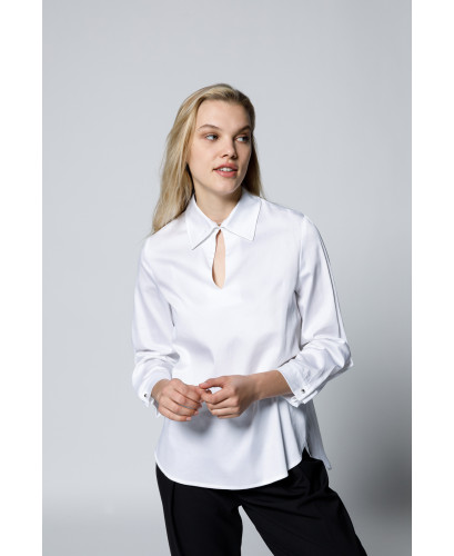 The Bronte Shirt-White