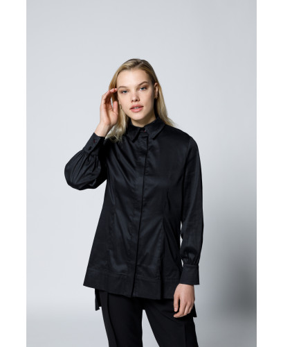 The Elisabeth Shirt-Black