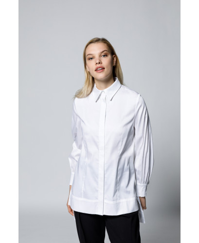 The Elisabeth Shirt-White