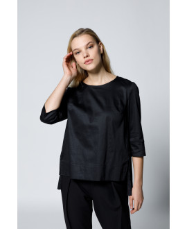 The Prudence Shirt-Black