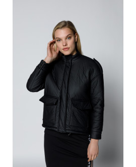 The Shield Jacket-Black