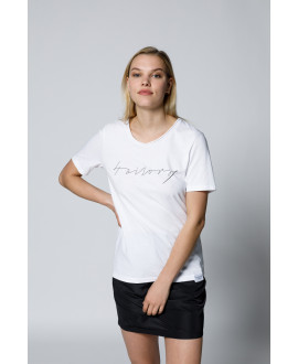 The Logo Shirt-White