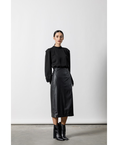 The Headmistress Skirt-BLACK