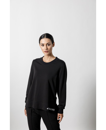 The Running Sweater-BLACK