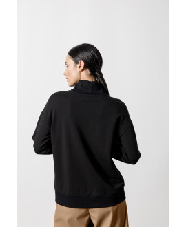 The Hide Sweater-BLACK