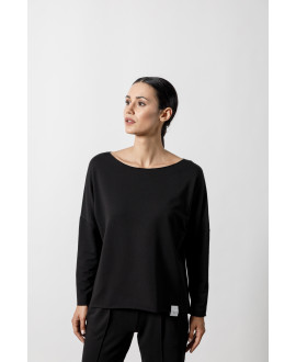 The Cloak Top-BLACK