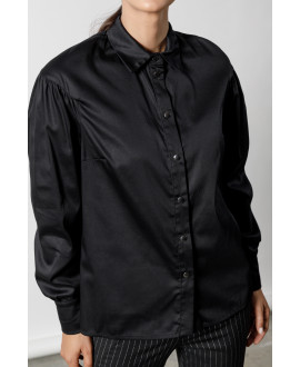 The Stroll Shirt-BLACK