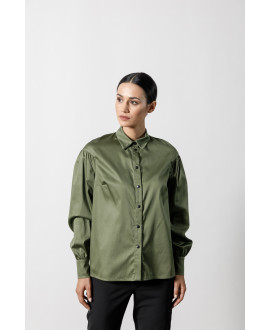 The Stroll Shirt-KHAKI