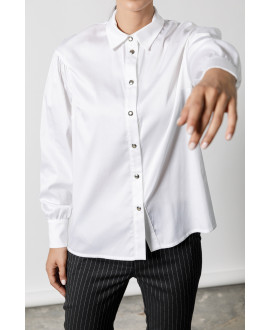 The Stroll Shirt-WHITE