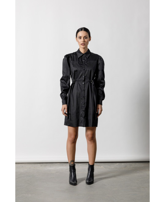 The Uniform Dress-BLACK