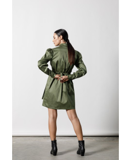 The Uniform Dress-KHAKI