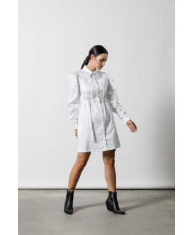 The Uniform Dress-WHITE