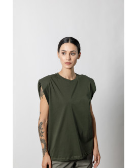 The Wide Top-KHAKI