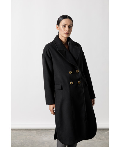 The Shelter Coat-BLACK