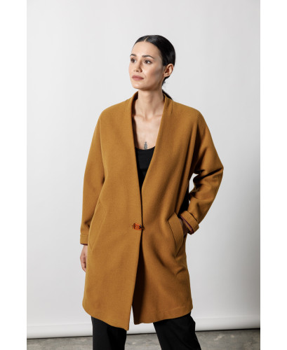 The Nest Coat-CAMEL