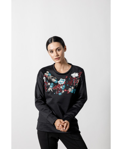 The Paradise Sweater-BLACK