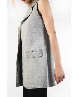 The grey vest