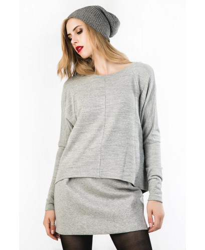 The grey sweater