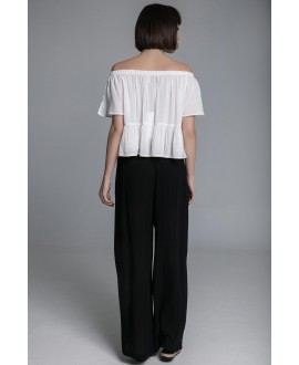 The shoulders out top