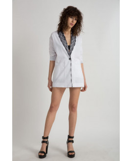 The White Enlightenet Blazer