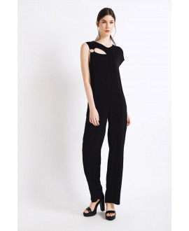 The Black Sleek Jumpsuit