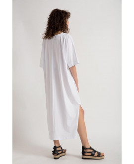 The White Offbeat Dress