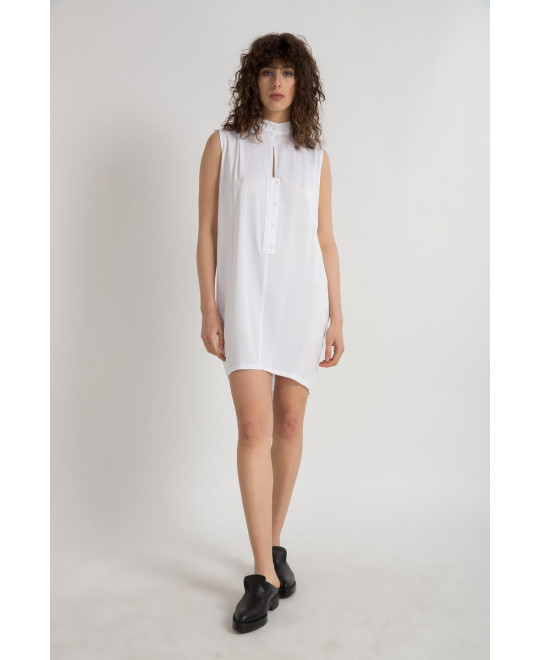 The White Feather Dress