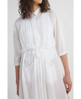 The White Electra Dress