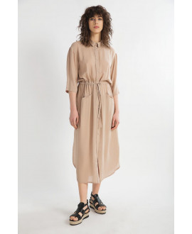 The Beige Electra Dress